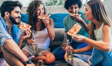 Restaurant proposant des pizzas avec viande halal à emporter à Morteau